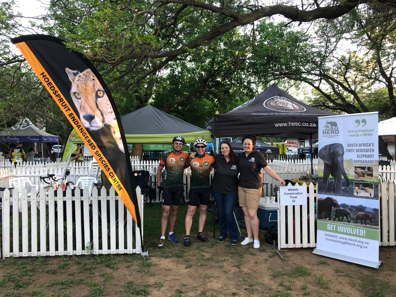 Wildlife Conservation Trust, Hoedspruit Endangered Species Centre, Hoedspruit Elephant Rehabilitation and Development, Discovery Ride Joburg, Ride for a Purpose, cycle, cycling